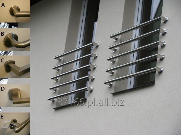 Kupić Balustrada Francuska Zabezpieczenie balkonu BALUSTRA INOX 304 Ø42,4mm