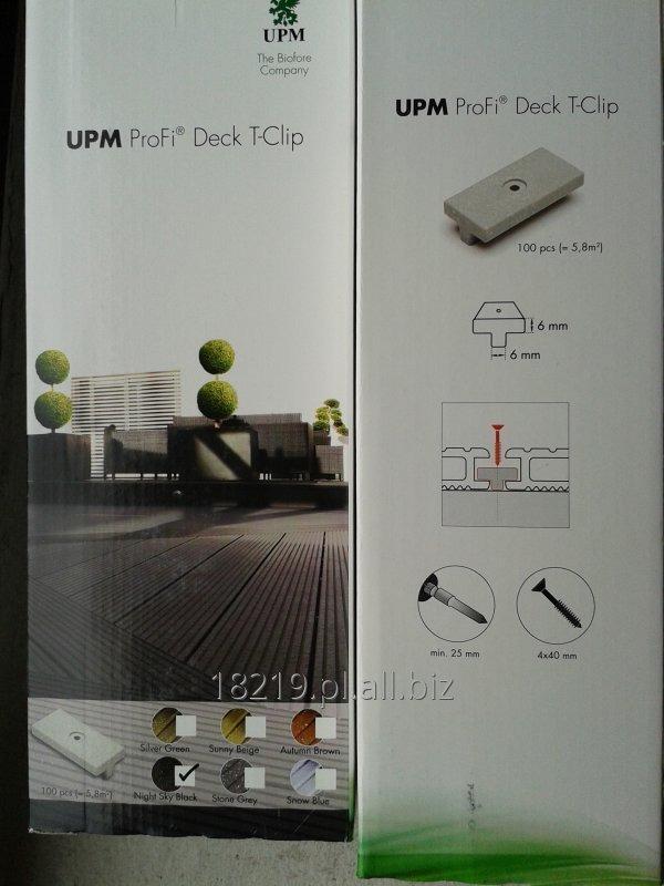 Kupić Klipsy do tarasów kompozytowych firmy UPM + wkręty