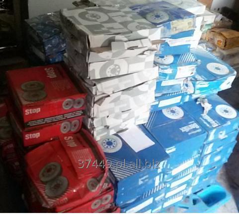 Kupić Nowe tarcze hamulcowe przednie, produkcja europejska i japońska.
