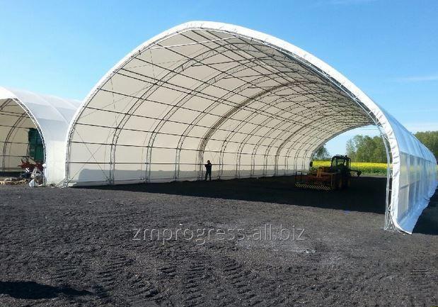 Kupić Hala namiotowa na ciężkiej, solidnej konstrukcji rurowo - kratownicowej. Szerokość 8-15 m.
