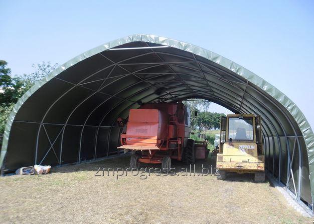 Kupić Hangar namiotowy na maszyny rolnicze, zapewnia ochronę i bezpieczeństwo nawet przy najtrudniejszych warunkach atmosferycznych