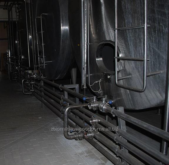 Kupić Zbiorniki ze stali kwasoodpornej