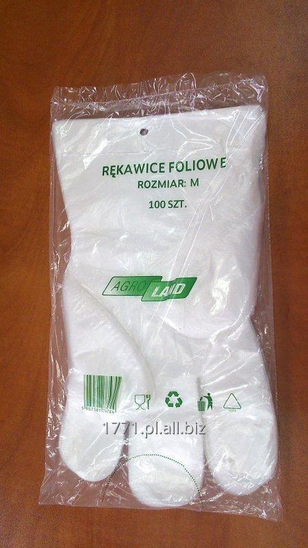 Kupić Rękawiczki foliowe HDPE jednorazowe