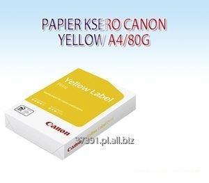 Kupić Papier ksero Canon Yellow Label A4