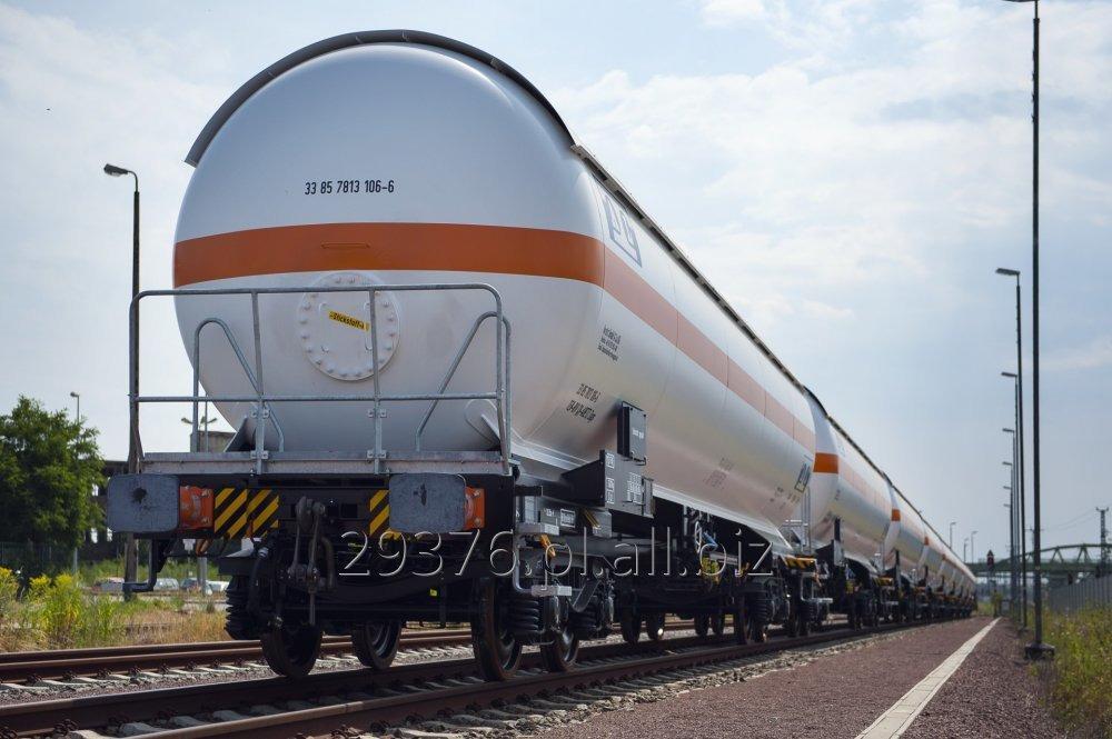 Kupić Cysterny kolejowe - gazowe, wagon cysterna kolejowa do transportu gazów skroplonych propan-butan i ich mieszanin.