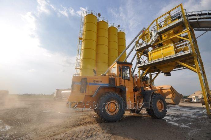 Kupić Szybka w montażu i zapewniająca niski koszt produkcji mobilna wytwórnia betonu.