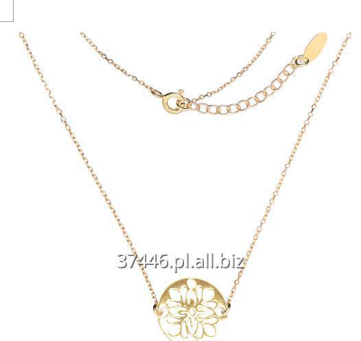 Kupić Naszyjnik który noszą gwiazdy, piękna ażurowa celebrytka wykonana z pozłacanego srebra próby 925.