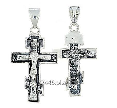 Kupić Zawieszki do łańcuszków wykonane z czystego i oksydowanego srebra próby 925, prawosławne krzyże w wielu wzorach.