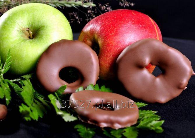 Kupić Krążki suszonego jabłka w znakomitej mlecznej czekoladzie.