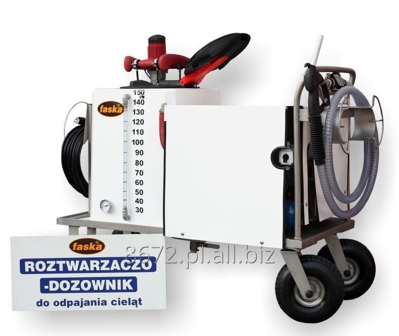 Kupić Wydajny dozownik do szybkiego roztwarzania środka mlekozastępczego dla cieląt, RODOZ-150