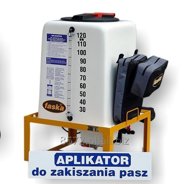Kupić Efektywny aplikator do dozowania dodatków przy zakiszaniu paszy w trakcie zbioru, model FAAP-120