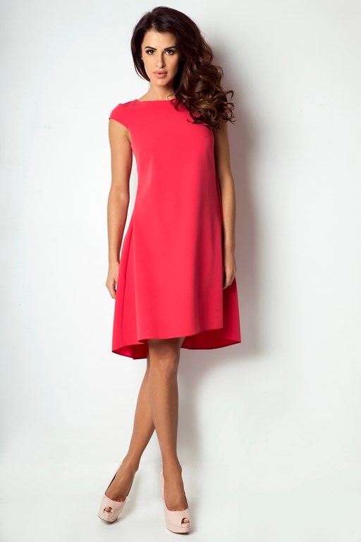 Kupić Czerwona klasyczna sukienka