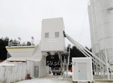 Kupić Proton, stacjonarna betoniarnia łącząca niezawodność z niskimi kosztami produkcji.