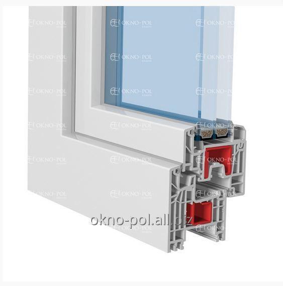 Energooszczędne okna stworzone na  innowacyjnych profilach Kömmerling InVitra, który pozwala na produkcję okien i drzwi o różnych kształtach i wymiarach
