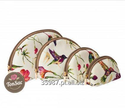 Kupić Zestaw kosmetyczek z motywem kolibra