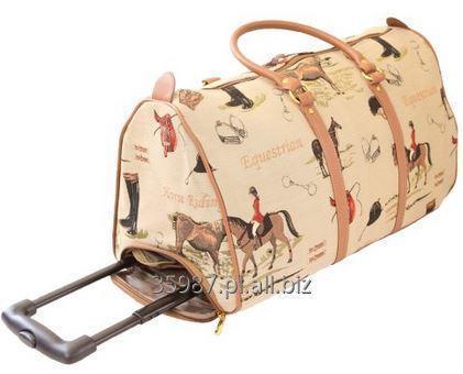 Kupić Torba podróżna na kółkach wykonana z tkaniny gobelinowej