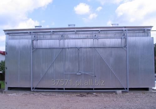 Kupić Suszarnia aluminiowa na szkielecie stalowym z izolacją Rockwool