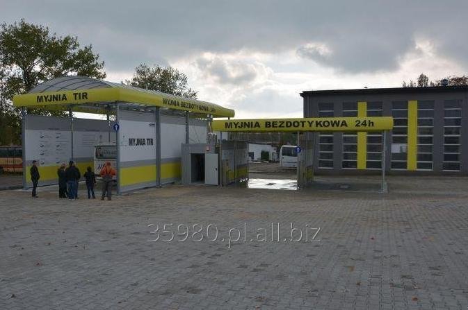 Kupić Myjnia samoobsługowa dla samochodów osobowych, ciężarówek i autobusów.