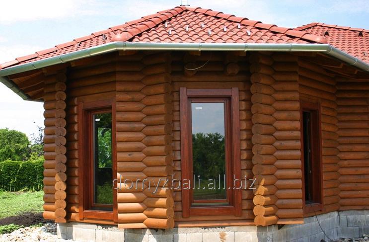 Kupić Oferujemy duże i mniejsze domy z bala okrągłego.