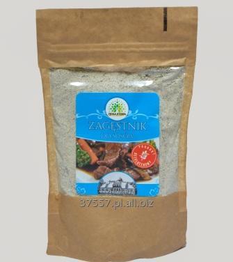 Kupić Bezglutenowy zagęstnik do sosów warzywnych i mięsnych, mielone ziarna trawy słoniowej.