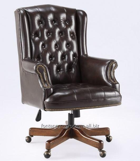 Buy Seat it is made of genuine leather, a chair of the president, Managemen
