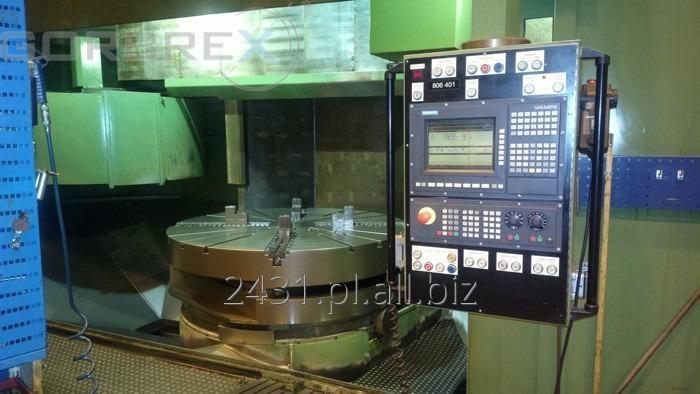 Kupić CNC TOKARKA KARUZELOWA DORRIES Model VCE 180 z wymianą stołów 3 szt. + oś C
