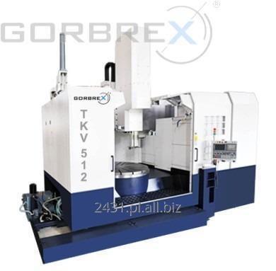 Kupić CNC Tokarka Karuzelowa GORBREX Model: TKV 512 / 1200