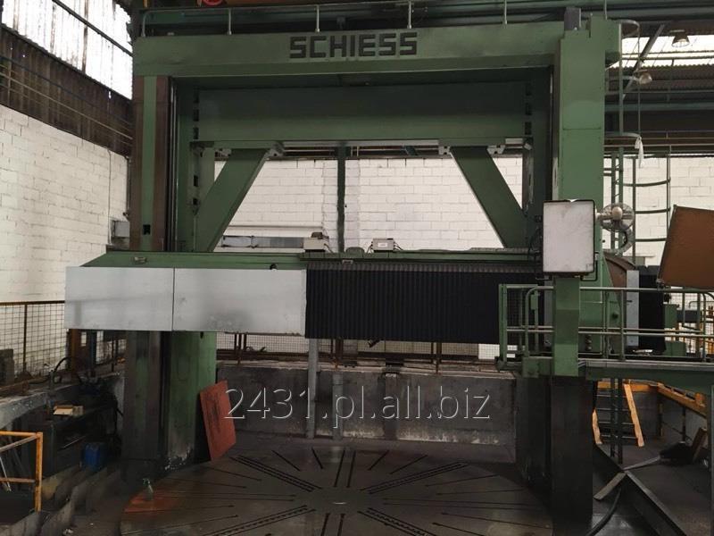 Kupić CNC Tokarka Karuzelowa SCHIESS 6000 mm