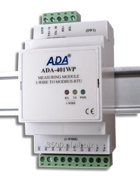 Kupić ADA-401WP - Moduł pomiarowy 1-WIRE na MODBUS-RTU