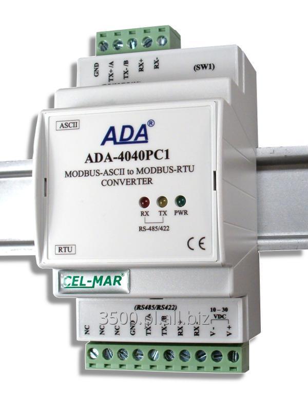 Kupić ADA-4040PC1 - Konwerter MODBUS-ASCII na MODBUS-RTU