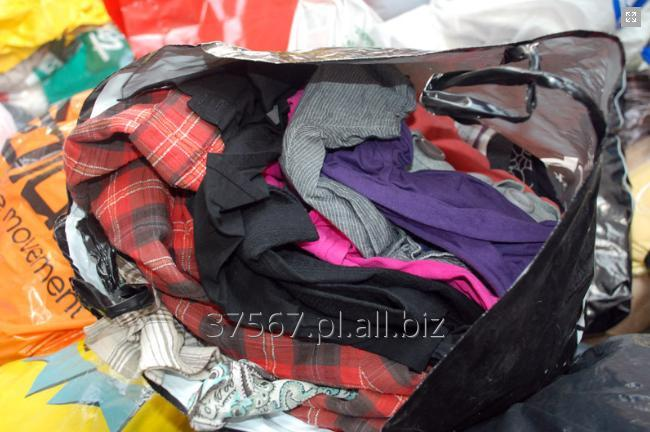 Kupić Odzież używana z Szwecji. Pakowana w torbach