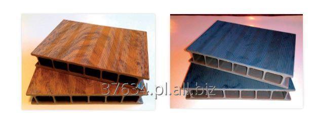 Kupić Deski tarasowe i pomostowe deski ryflowane wykonane z tworzywa PCV