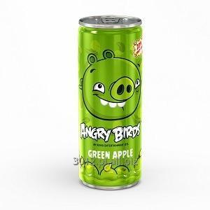 Kupić Angry Birds 250 ml soft drink - green apple