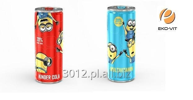 Minionki 250 ml soft drink