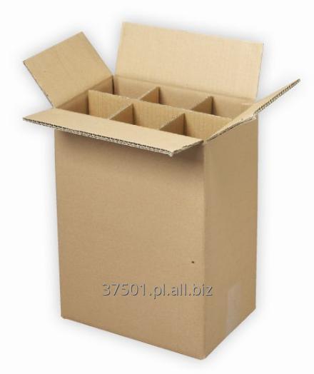 Kupić Kartony z podwójnej tektury falistej do butelek
