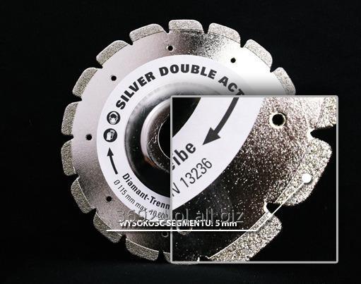 Kupić Tarcza diamentowa wielofunkcyjna DIEWE SILVER DOUBLE ACTION 115 mm