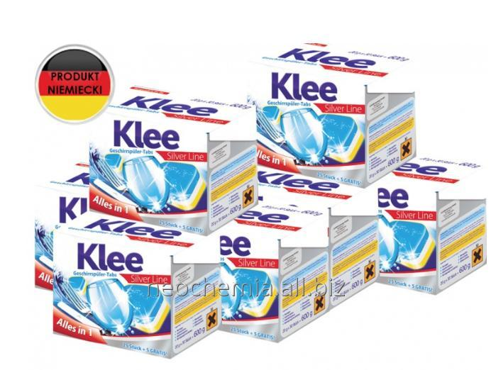 Kupić Tabletki do zmywarek Klee Silver Line