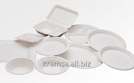 Kupić Naczynia jednorazowe biodegradowalne - miski, tacki, talerze, półmiski