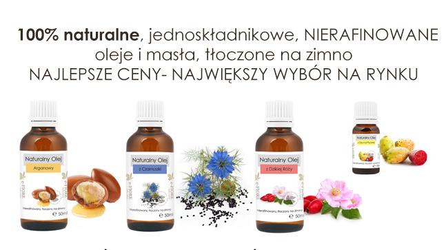 Kupić Oleje Naturalne Nierafinowane