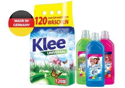 Kupić NIEMIECKI PROSZEK KLEE 10kg + 4 płyny Waschkonig 1l