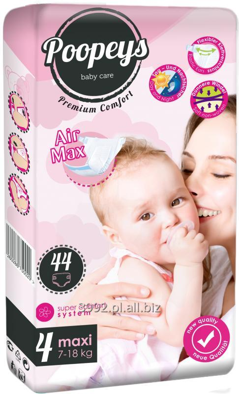 Kupić Pieluchy Poopeys Maxi 44
