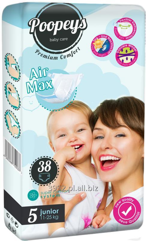 Kupić Pieluchy Poopeys Junior 38