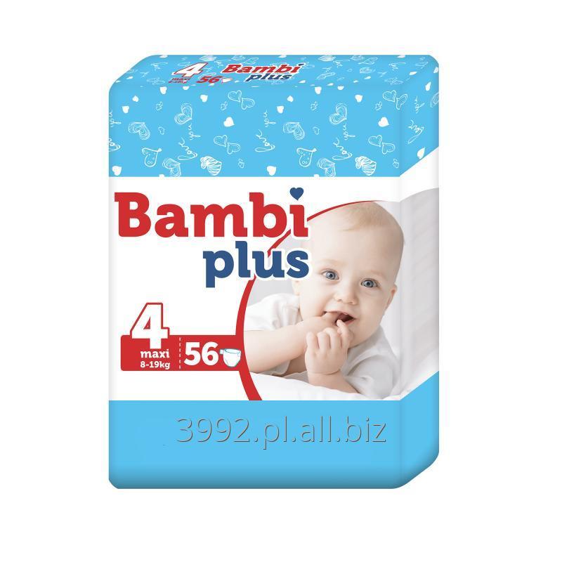 Kupić Pieluchy Bambi Plus Maxi 56