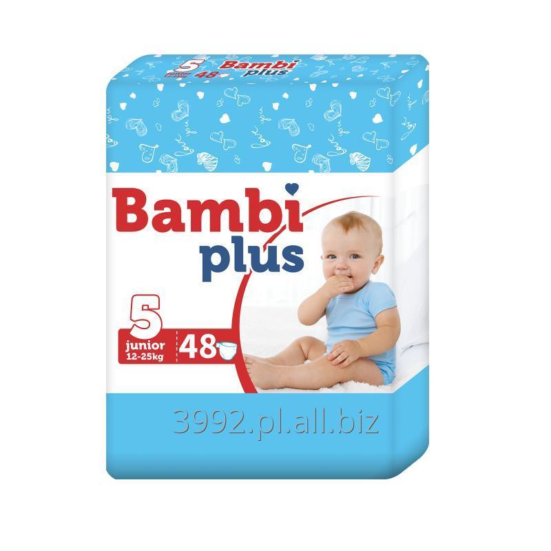 Kupić Pieluchy Bambi Plus Junior 48