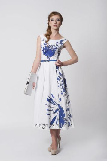 Kupić Tatiana T stylizowana na lata 50-te sukienka letnia, odcinana w talii, dół z półkola, długość do połowy łydki . Bardzo kobieca i subtelna