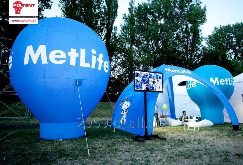 Vento, tightly inflated tent spacing in 5 minutes