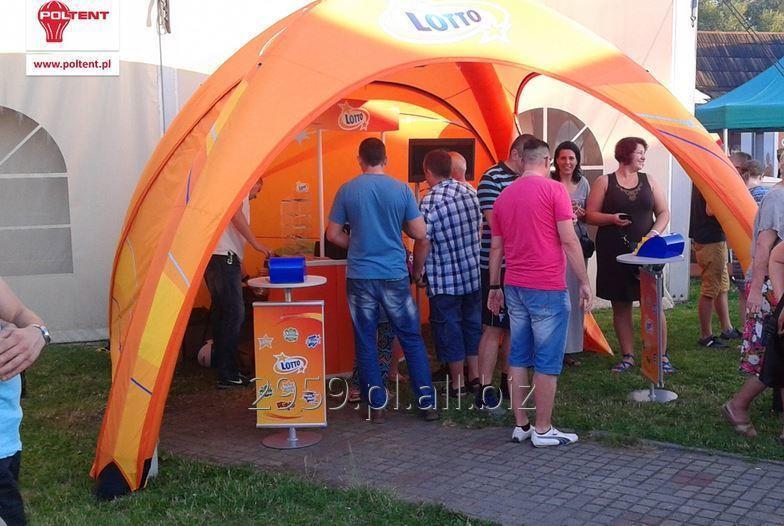 Efektowny, lekki i funkcjonalny namiot Vento, pompowany na stałe - nie wymaga wentylatora!