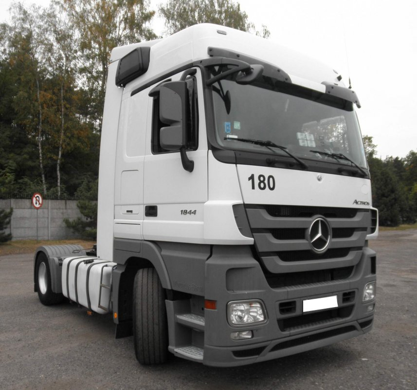 Mercedes Actros Mega Space 1844 2010r