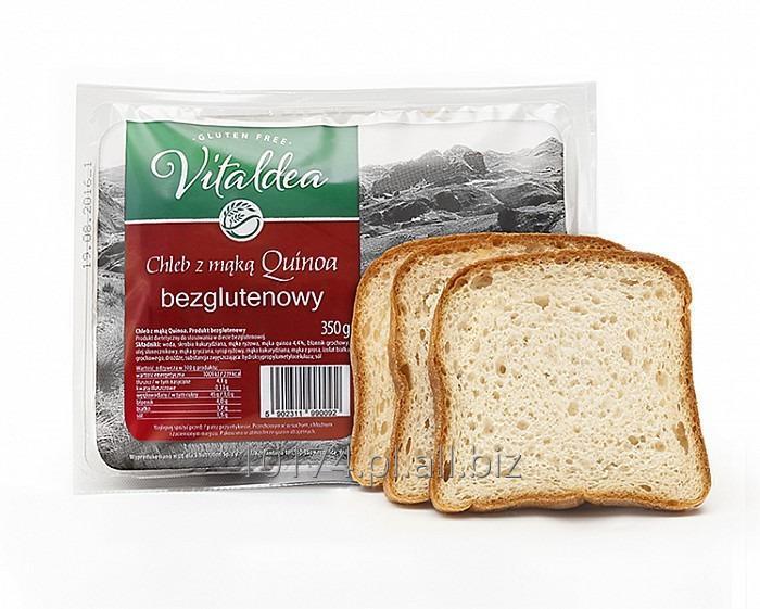 Kupić Vitaldea CHLEB z mąką quinoa 350g. Produkt bezglutenowy
