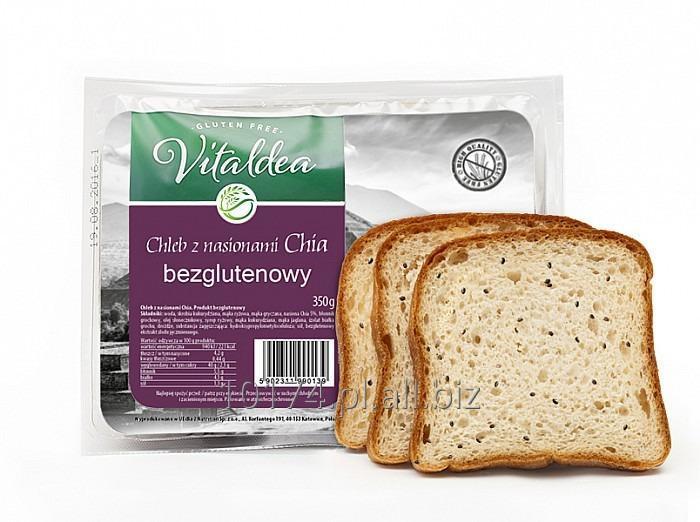Kupić Vitaldea CHLEB z nasionami Chia 350g. Produkt bezglutenowy